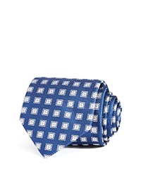 Bloomingdale's The Men's Store At Diamond Medallion Classic Tie Navy
