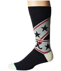 Stance Suit Up Navy Men's Crew Cut Socks Shoes