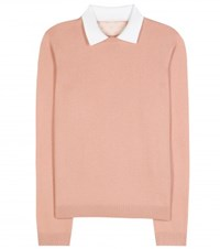 Red Valentino Cashmere And Silk Sweater Pink