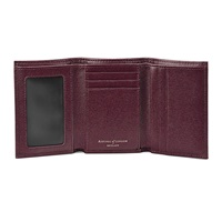 Aspinal Of London Trifold Wallet Burgundy
