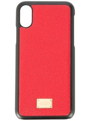Dolce And Gabbana Iphone X Case Red
