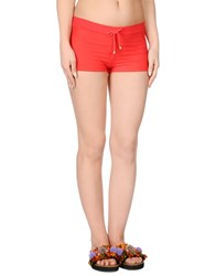 Miss Naory Beach Shorts And Pants Red