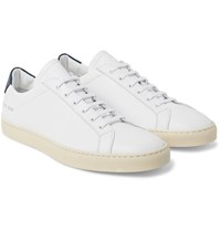 Common Projects Achilles Retro Leather Sneakers White