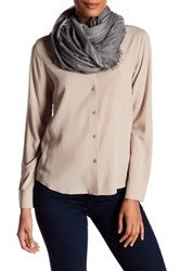 Zadig And Voltaire Lexy Scarf Gray