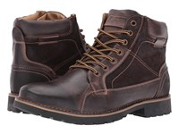 Steve Madden Coltun Dark Brown Men's Lace Up Boots