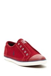 Nautica Lagan Laceless Sneaker Red