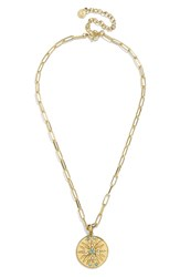 Baublebar Equinox Pendant Necklace Gold