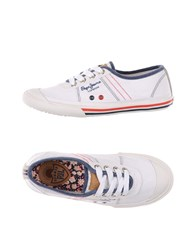 Pepe Jeans Footwear Low Tops And Trainers Women White