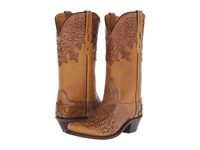 Old West Boots Lf1540 Tan Fry Light Tan Cowboy Boots Brown