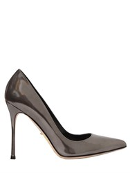 Sergio Rossi 105Mm Godiva Metallic Leather Pumps