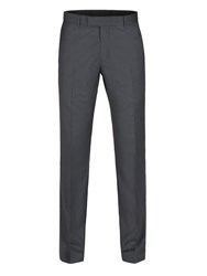Alexandre Of England Men's Weston Charcoal Twill Trouser Charcoal
