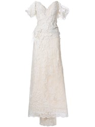 Trash Couture Grand De Lune Gown White