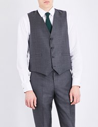 Paul Smith Soho Fit Wool Waistcoat Grey