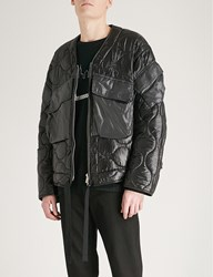 The Soloist Quilted Shell Jacket Black