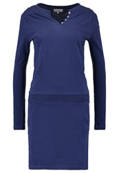 Twintip Jersey Dress Dark Blue