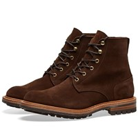 Tricker's End. X Low Leg Logger Boot Brown