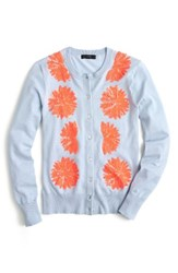 J.Crew Women's Jackie Embellished Cotton Blend Cardigan