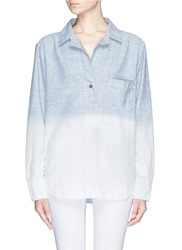 Rag And Bone 'Leeds' Ombre Shirt Blue