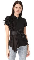 Preen By Thornton Bregazzi Enya Shirt Black