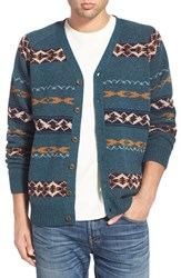 Men's Pendleton Fair Isle Cardigan
