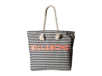 Billabong Essential Tote Bag Black White Tote Handbags
