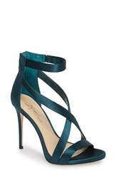 Imagine By Vince Camuto Women's 'Devin' Sandal Deep Emerald Satin