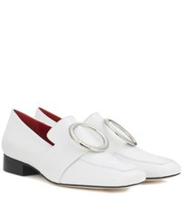 Dorateymur Exclusive To Mytheresa.Com Harput Patent Leather Loafers White