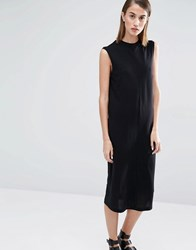 Selected Missy Sleeveless Dress Black