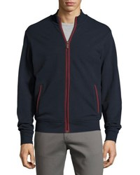 Original Penguin Colorblocked Track Jacket Blue