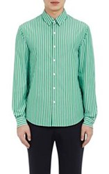 Tomorrowland Candy Striped Shirt Green