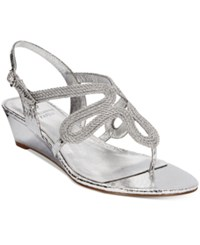 Adrianna Papell Carli Evening Sandals Women's Shoes Silver