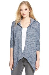 Women's Nydj French Terry Hooded Cardigan