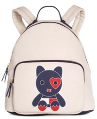 Tommy Hilfiger Honey Printed Dome Backpack Oatmeal