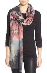 Lily And Lionel Women's Lily And Lionel 'Skyler' Floral Print Modal And Cashmere Scarf