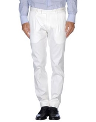 Paoloni Casual Pants White