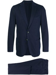Dell'oglio Two Piece Suit Blue