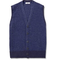 Inis Meain Ini Merino Wool Weater Vet Royal Blue