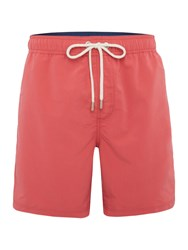 Howick Plain Swim Shorts Coral