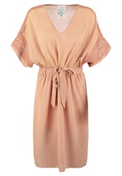 Noa Noa Summer Dress Cork Apricot