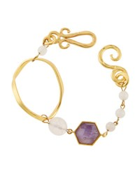 Stephanie Kantis Organic Mixed Bracelet Purple