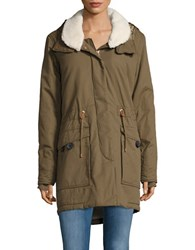 Bench Relator Fleece Trimmed Parka Beech