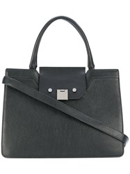 Jimmy Choo Rebel Tote Goat Skin Black