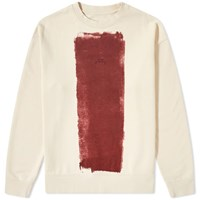 A Cold Wall Block Paint Crew Sweat White