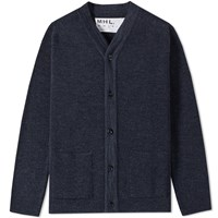 Mhl By Margaret Howell Mhl. Pocket Cardigan Blue