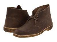 Clarks Desert Boot Taupe Suede Men's Lace Up Boots