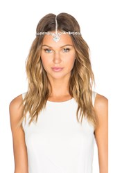 Lelet Ny Bella Crystal Crown Metallic Silver