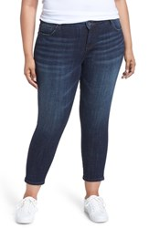 Kut From The Kloth Plus Size Catherine Ankle Straight Leg Jeans Intensity
