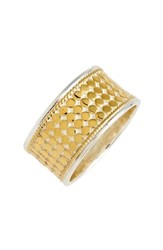 Anna Beck Women's Vermeil Cigar Band Ring