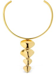 Cornelia Webb Molded Spine Choker Gold