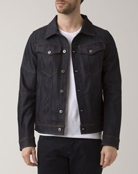 G Star 3301 Deconstructed Raw Denim Jacket Blue